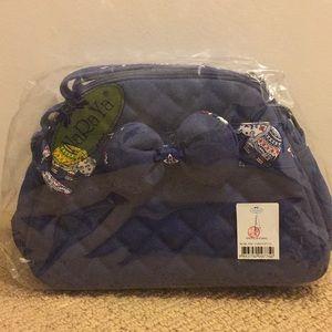 NaRaYa Elephant Fabric Crossbody/Shoulder Bag